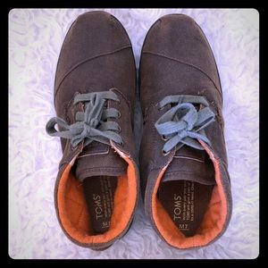 Toms Brown Chukka Lace Up Size 7